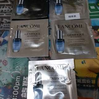 Lancome激活精華全圖22元已售,圖2眼霜全圖18元