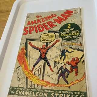 Amazing Spider-man #1 original print-pre-owned