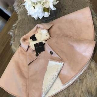 Pink cape jacket 3T