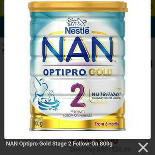 Nan Optipro Gold Stage 2