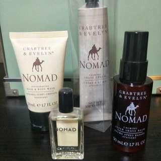 Crabtree & Evelyn - Nomad travel set