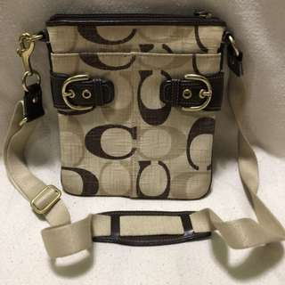 Authentic coach body bag