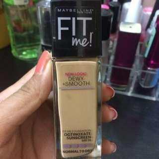 maybelline Fit me dewy smooth  shade 220 NET!!