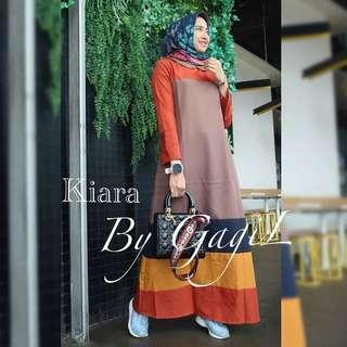 ST - 0118 - Dress Busana Muslim Kiara