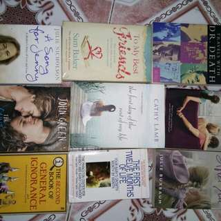 Pre Loved Books and Novels