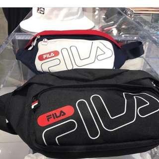 Last Order! Official FILA Korea sling side bag / bucket hat