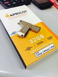 """Apricot 32gb very affordable yet ORIGINAL & WELL SEALED """"Order now"""" ! :)"""