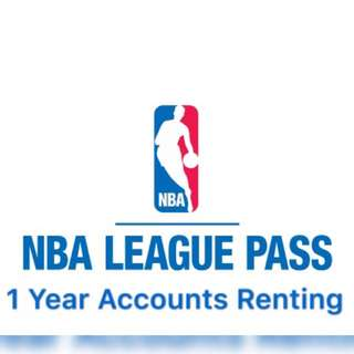 NBA League Pass 1 Year Account Renting