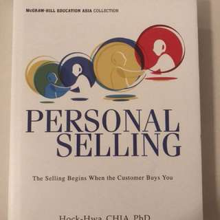 For the consummate sales professional - Personal Selling by Hock-Hwa CHIA PhD