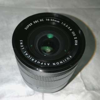 Fujifilm Super EBC XC 16-50mm lens