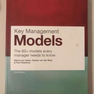 Key Management Models - an expensive reference book for cheap!