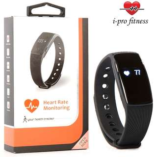 010 (Brand New) i-Pro ID107 Waterproof Fitness Tracker With Heart Rate Monitor, Sleep Tracker App And Calorie Counter App – Easy To Use Pairing With VeryFit 2.0 App – PLUS Bonus E-Book To Accelerate Your Results