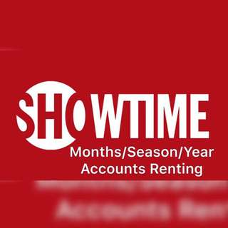 Showtime Months/Seasons/Year Accounts Renting