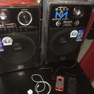 Iphone5s and BassMaster Speaker