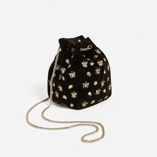 Zara Embellished Pouch