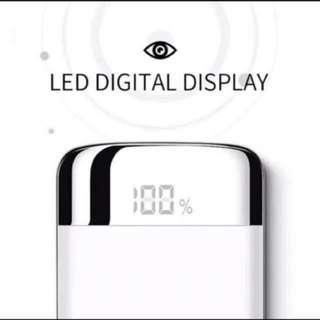 10000 mAh LED Screen Power Bank 顯示尿袋 手機電池 iPhone X