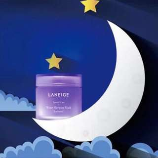 🎉1+1 @ $40 ONLY!! Laneige Water Sleeping Mask 70ml + 70ml