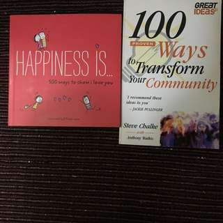 Happiness Book/ Ways to Transform Your Community