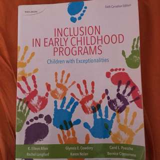 Inclusion in Early Childhood Program