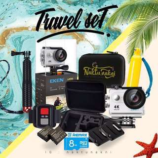 Action Camera Eken (travel set)