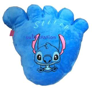LILO STITCH FOOT PLUSH PILLOW