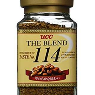 ♥UCC - THE BLEND 114 INSTANT COFFEE 3.52 OZ.♥