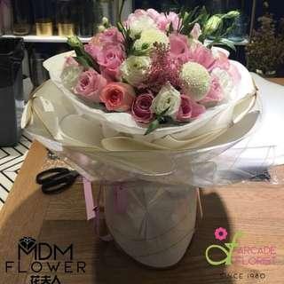 Bouquet Vf_26 | Rose Flower | Flower Bouquet | Flower | Flowers | Fresh Flower | Rose | Roses
