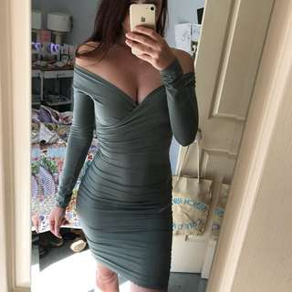 KOOKAI - khaki dress