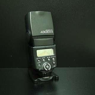 Canon 430EX II + Phottix Flash Trigger