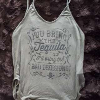 Olive Green Tequila Tank (M)