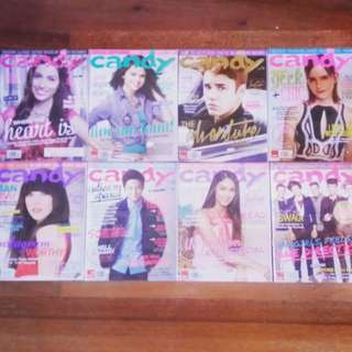 Candy Magazine Previous Issues (Jan, Apr-Jul, Sept-Nov 2013)