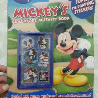Disney Mickey's adventure activity book