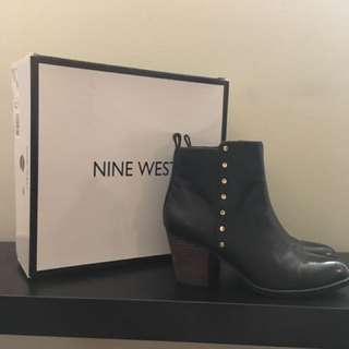 Brand New Nine West Black Leather Boots!