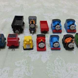 12pcs Thomas (campur minis) *