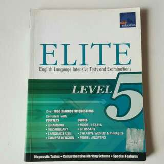 FIXED PRICE📬Level 5 Elite English Language Intensive Tests & Examinations Assessment Book