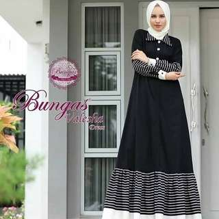 MF - 0118 - Dress Busana Muslim Velesha Maxi