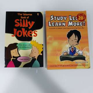 Study Less Lesrn More, Silly Jokes