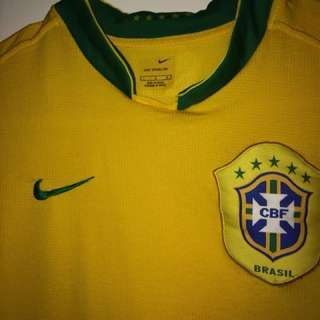 Authentic Brazil shirt