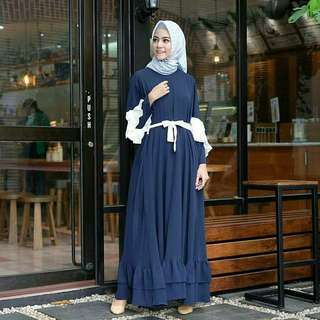 MF - 0118 - Dress Busana Muslim Makaila
