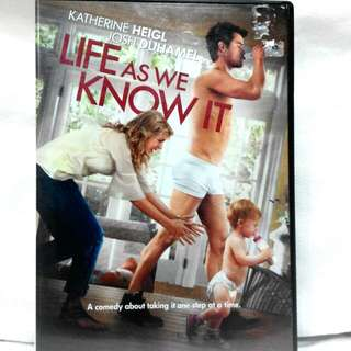 LIFE AS WE KNOW IT (Comedy starring Katherine Heigl)
