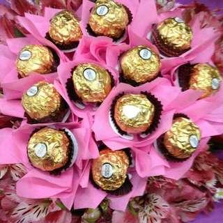 Bouquet of ferrero