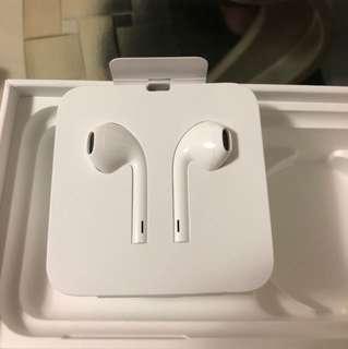 iphone X 原裝 lightning 頭 earpod headphone