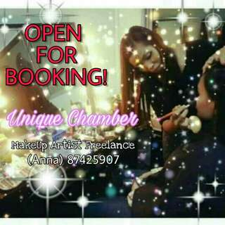 FREELANCE MAKEUP SERVICES By UNIQUE CHAMBER (Certified By Cosmoprof)