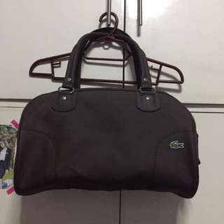 Lacoste Brown Bag