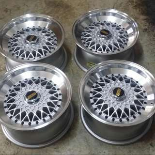 Swap Bbs Rs 15 With Standart Rim 15