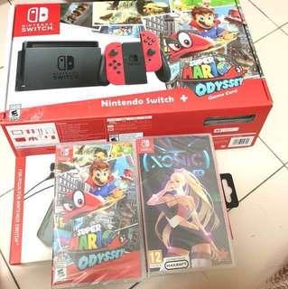 Brand new Super Mario odyssey bundle local set