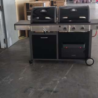 BBQ grill combo - Gas & Charcoal