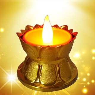 Led light offer Buddha lamp battery operated