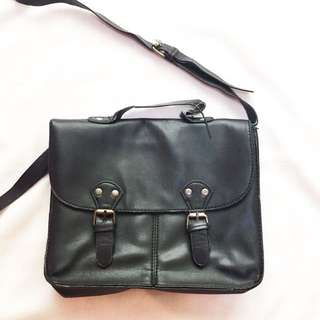 Terranova Black Satchel Bag