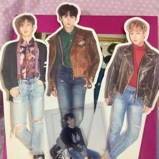 (Wanna One) Kang Daniel Wanna Ver. and Park Jihoon One Ver. Standee Nothing Without You